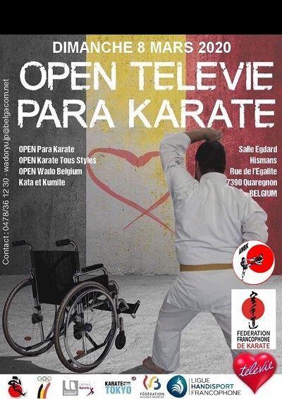 Open Televie @ Salle Edgard Hismans